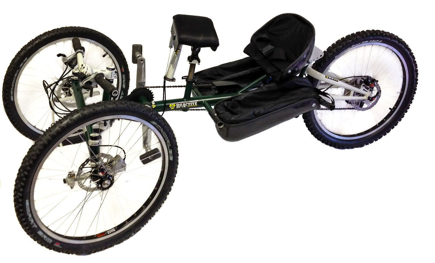 reactive adaptations bomber offroad handcycle