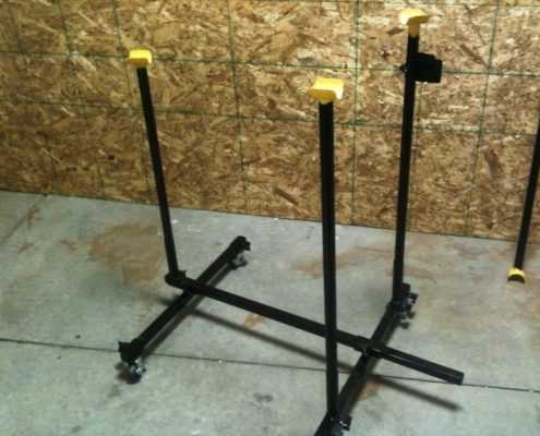 Handcycle work stand