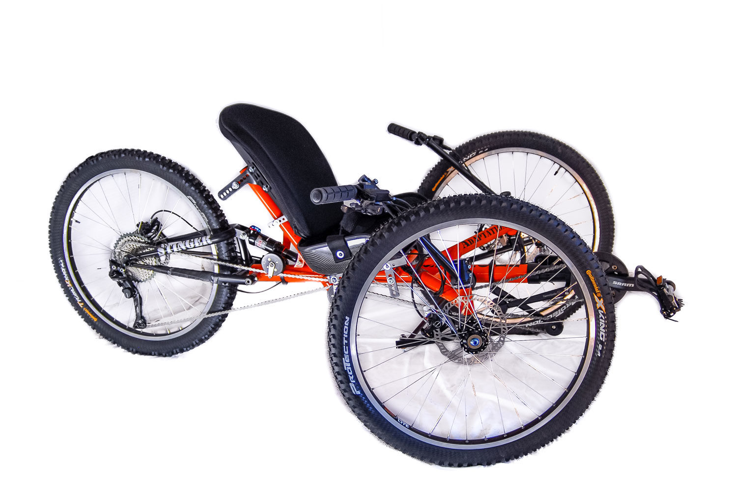 Reactive Adaptations Higher Ground Offroad Handcycle  sm