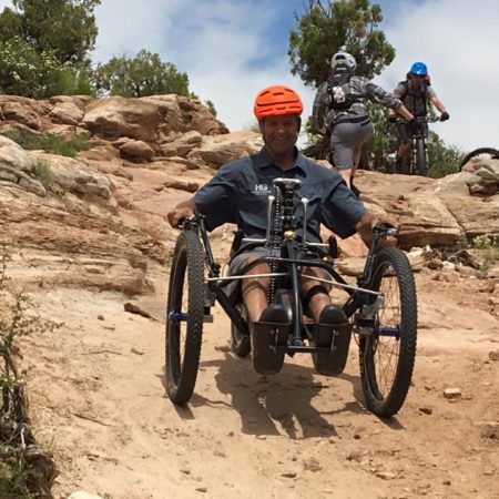 Reactive Adaptations Nuke Offroad Handcycle