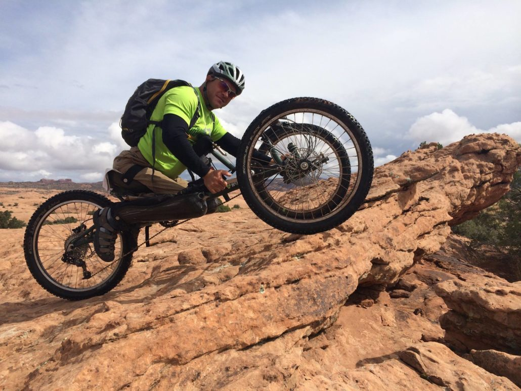 Reactive Adaptations Offroad Handcycles