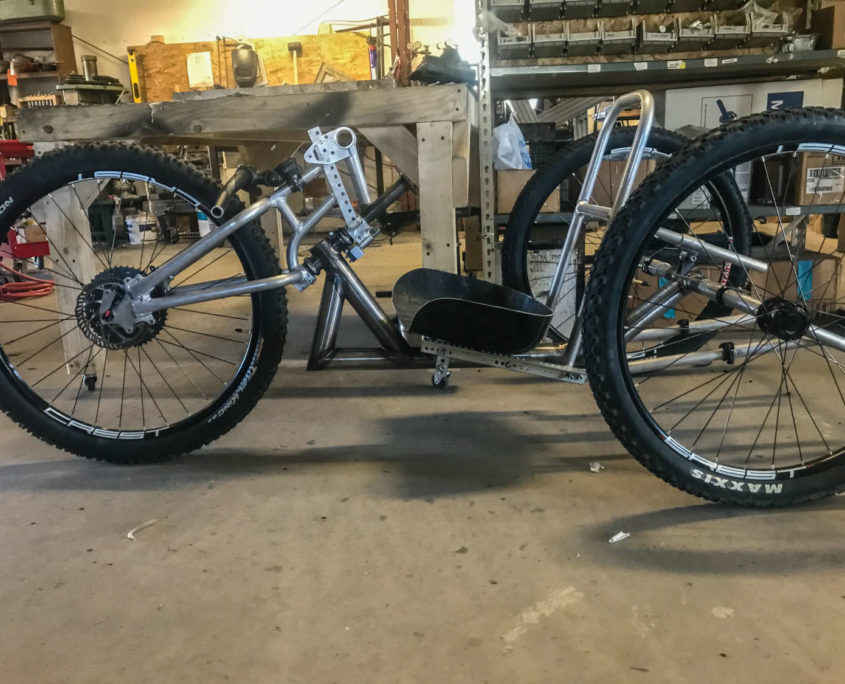 Reactive Adapatations Grocery Getter Handcycle-001
