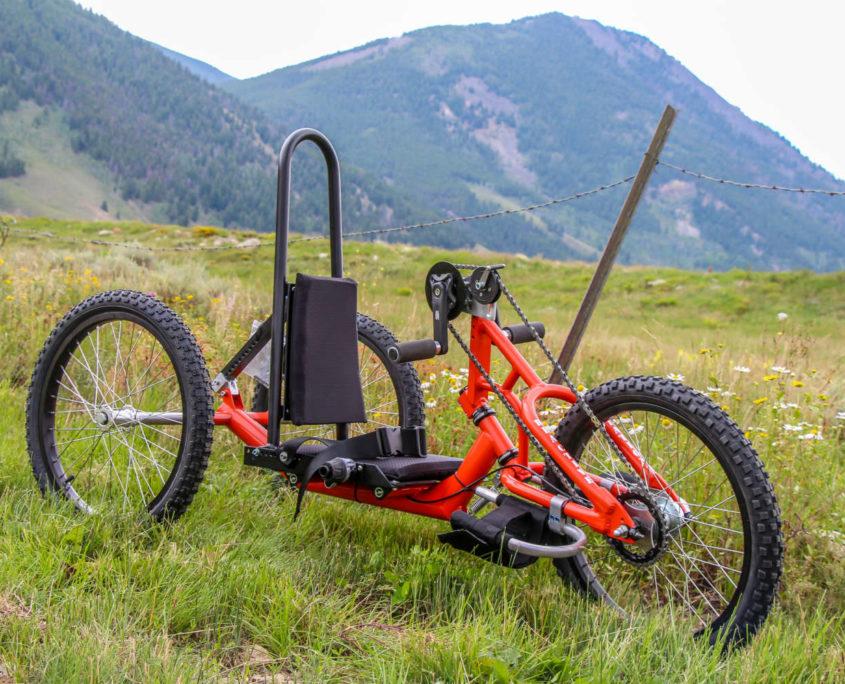 Reactive Adaptations Wildcat Kids Offroad Handcycle