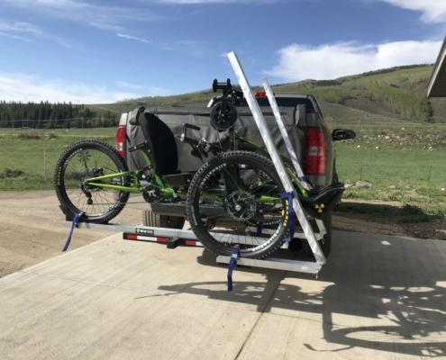 Handcycle Hitch Rack