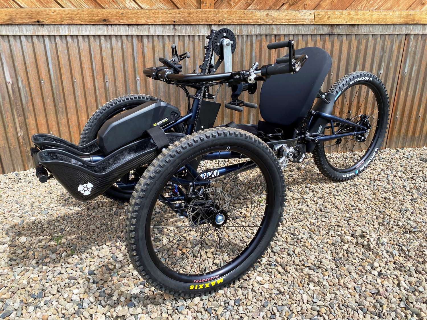 Mako Recumbent Offroad Handcycle